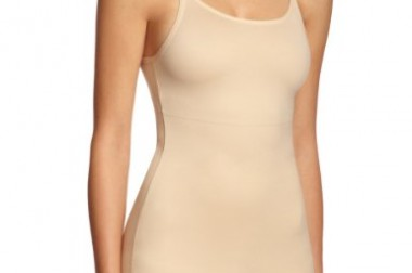 Maidenform Women's Flexees Shapewear Firm Control Camisole, Latte Lift