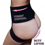 Lelinta Sexy Fullness Butt Lifter Panty Enhancer Tummy Control Body Shaper