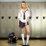 Dreamgirl Women's Prep School Costume, Multi,...